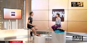 France Pierron dans Menu Sport - 08/01/15 - 31