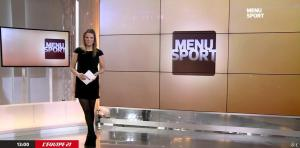 France Pierron dans Menu Sport - 09/02/15 - 01