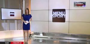 France Pierron dans Menu Sport - 10/02/15 - 01