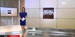 France Pierron dans Menu Sport - 10/02/15 - 06