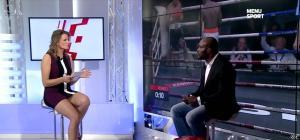 France Pierron dans Menu Sport - 11/11/14 - 06
