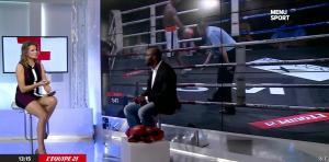 France Pierron dans Menu Sport - 11/11/14 - 07