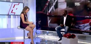 France Pierron dans Menu Sport - 11/11/14 - 10