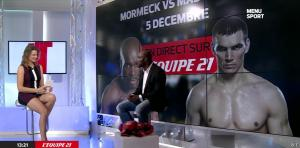 France Pierron dans Menu Sport - 11/11/14 - 11