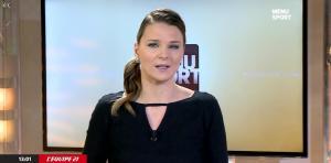 France Pierron dans Menu Sport - 17/02/15 - 02