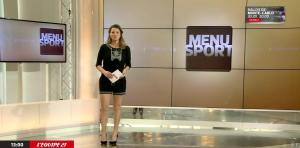 France Pierron dans Menu Sport - 20/01/15 - 01