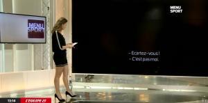 France Pierron dans Menu Sport - 20/01/15 - 06