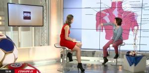 France Pierron dans Menu Sport - 22/01/15 - 04