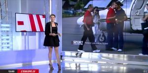 France Pierron dans Menu Sport - 31/12/14 - 02