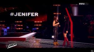 Jenifer Bartoli dans The Voice - 07/02/15 - 03