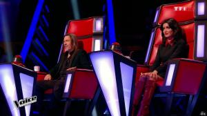 Jenifer Bartoli dans The Voice - 07/02/15 - 05