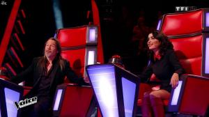 Jenifer Bartoli dans The Voice - 10/01/15 - 09