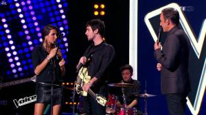 Karine Ferri dans The Voice - 07/02/15 - 07