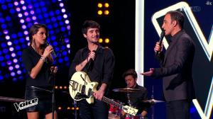 Karine Ferri dans The Voice - 07/02/15 - 08
