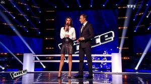 Karine Ferri dans The Voice - 07/03/15 - 01