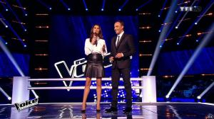 Karine Ferri dans The Voice - 07/03/15 - 02