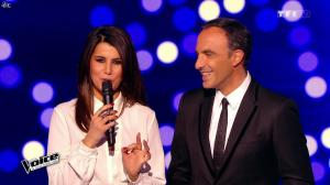 Karine Ferri dans The Voice - 07/03/15 - 03
