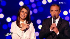 Karine Ferri dans The Voice - 07/03/15 - 04