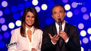Karine Ferri dans The Voice - 07/03/15 - 05