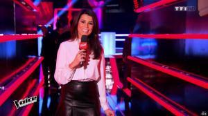 Karine Ferri dans The Voice - 07/03/15 - 06