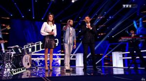 Karine Ferri dans The Voice - 07/03/15 - 09