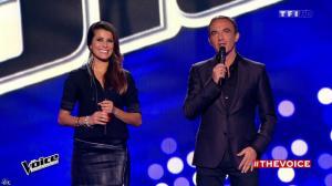 Karine Ferri dans The Voice - 10/01/15 - 01