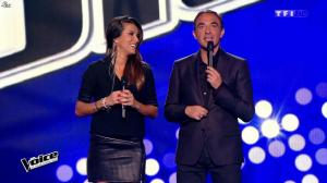 Karine Ferri dans The Voice - 10/01/15 - 02