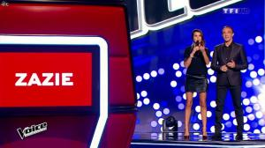 Karine Ferri dans The Voice - 10/01/15 - 04