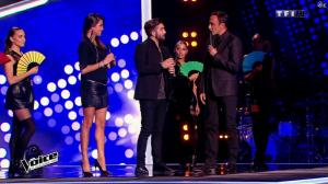 Karine Ferri dans The Voice - 10/01/15 - 07
