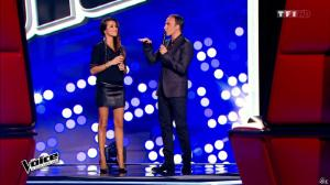 Karine Ferri dans The Voice - 14/02/15 - 01