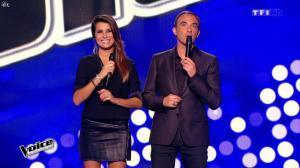 Karine Ferri dans The Voice - 14/02/15 - 02