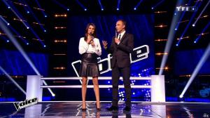 Karine Ferri dans The Voice - 14/03/15 - 01