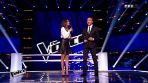Karine Ferri dans The Voice - 14/03/15 - 02