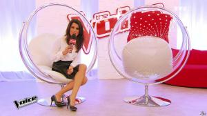 Karine Ferri dans The Voice - 14/03/15 - 05