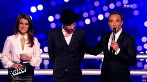 Karine Ferri dans The Voice - 14/03/15 - 11