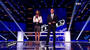 Karine Ferri dans The Voice - 14/03/15 - 12
