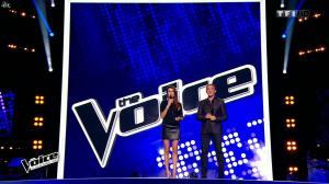 Karine Ferri dans The Voice - 17/01/15 - 02