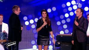 Karine Ferri dans The Voice - 17/01/15 - 04