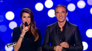 Karine Ferri dans The Voice - 21/02/15 - 01