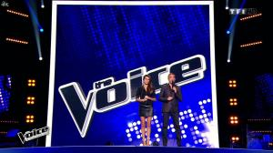 Karine Ferri dans The Voice - 21/02/15 - 02