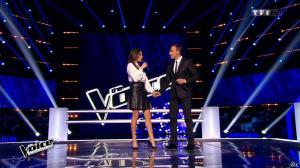 Karine Ferri dans The Voice - 28/02/15 - 01