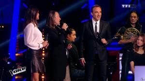 Karine Ferri dans The Voice - 28/02/15 - 04