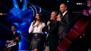 Karine Ferri dans The Voice - 28/02/15 - 08