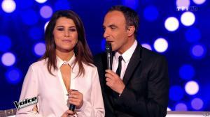 Karine Ferri dans The Voice - 28/02/15 - 09