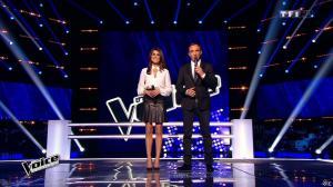 Karine Ferri dans The Voice - 28/02/15 - 10