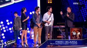 Karine Ferri dans The Voice - 31/01/15 - 02