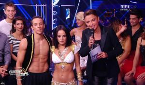 Sandrine Quétier et Alizée dans Danse avec les Stars - 12/10/13 - 06