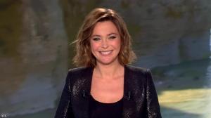 Sandrine Quétier lors du Tirage du Loto - 21/02/15 - 02