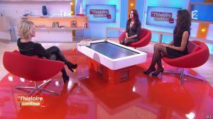 Sophie Davant, Delphine Wespiser et Flora Coquerel dans Toute une Histoire - 28/01/15 - 03