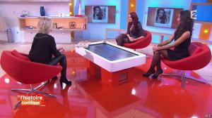 Sophie Davant, Delphine Wespiser et Flora Coquerel dans Toute une Histoire - 28/01/15 - 07